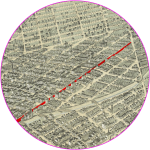 Map showing 14th St.